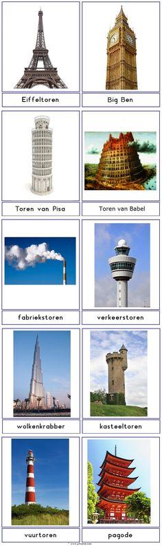 Woordkaarten : torens