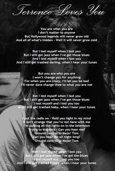 Terrence loves you lyrics #LDR