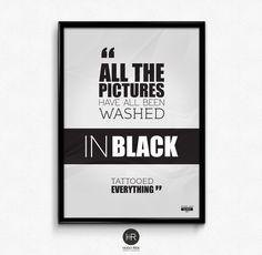 Black Typography Inspiration, Graphic Design Inspiration, Daily Inspiration, Music Words, Graphic Design Illustration, Black Tattoos, Songs, Writing, Artworks