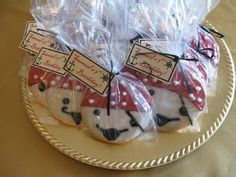 Pirate party, pirate cookies