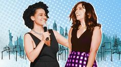 Hanging with the highly amusing, deeply stoned, not-so-secretly smart, and super-powerful women of 'Broad City.'