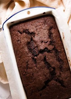 The fudgiest, moistest, most decadent chocolate bread you will ever have. Full stop, period!