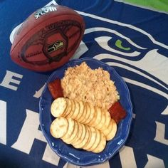 World Champ Salmon Dip - A very tasty dip that anyone can make in minutes. The smoked salmon combined with these ingredients combine for a complete and quick game day Dish.