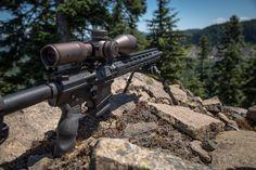 "18"" Mega Arms 308 barrel and Vortex Optics = 1000 yards all day long.  MegaArms.com/maten/ Warne Scope Mounts"