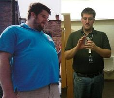 From 360 pounds down to 310.  Awesome weight loss.