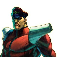 M Bison - Street Fighter (Dominic shoulder armour inspiration).
