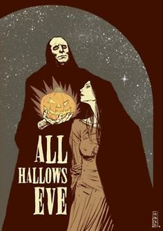 All Hallow's Eve. Saw this years ago. I love this poster!