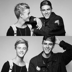 Jack & Jack all smiles