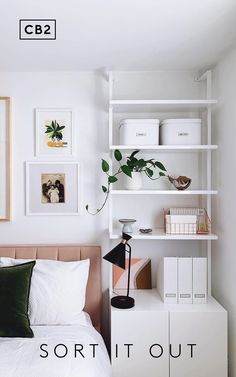 Everything you need for the ultimate home office setup (no matter where it is in your space). Room Ideas Bedroom, Bedroom Inspo, Home Bedroom, Bedroom Decor, Ikea Small Bedroom, Small Bedroom Office, Apartment Bedrooms, Bedroom Signs, Bedroom Rustic