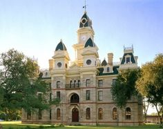 Goliad County Courthouse in Goliad