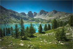 Allos Lake, Natural Infinity by Philippe Albanel www.philippe-albanel.com