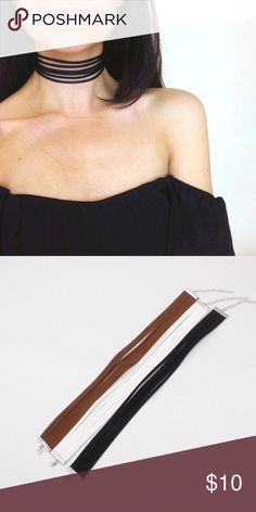 710f90282dc The Kendall Choker Stylish and trendy strap choker. The perfect accessory  for any outfit! Free Vibrationz