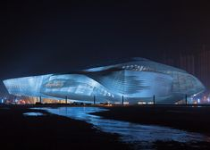 "archilistamag: "" Dalian International Conference Center 