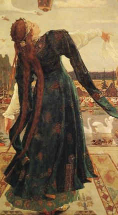 "silenceforthesoul: "" Viktor Vasnetsov (1848-1926) - Frog Princess """