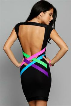 Neon and Back baring- cute!