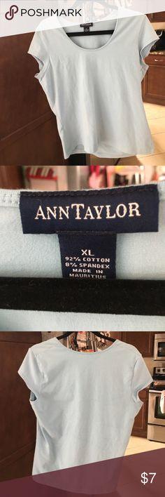 Ann Taylor blue top EUC XL Size XL Ann Taylor baby blue top. EUC Ann Taylor Tops