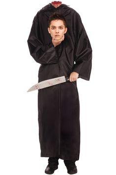 Headless Man Teen Costume #Halloween #costumes #scary