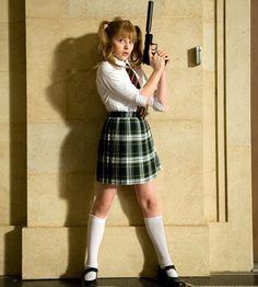 Chloe Moretz as Hit Girl