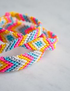 Classic Friendship Bracelets | Purl Soho - Create