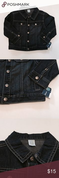 New Carter's Denim Jacket New with tags Carter's denim jacket. So cute and great for little boys or girls 💕 Tote 3 Carter's Jackets & Coats Jean Jackets