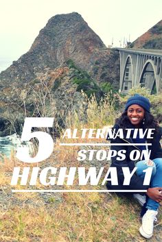 5 alternative stops on the PCH Highway 1 in California! Elephant Seals, Coastal Views, and Historic Bridges!