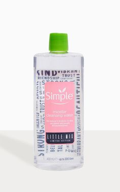 The Simple X Little Mix Micellar Face Cleanser Head online and shop this season's range of beauty at PrettyLittleThing. Makeup Sale, Cheap Makeup, Face Care, Skin Care, Bronze Tan, Scotland Holidays, Gift Sets For Her, Face Jewels, Hair Tonic