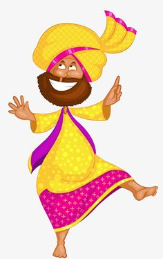 Indian men PNG and Clipart Cartoon Drawings, Cartoon Art, Indian Illustration, Wedding Illustration, People Illustration, Illustrations, Craft From Waste Material, Graphic Design Brochure, Indian Folk Art