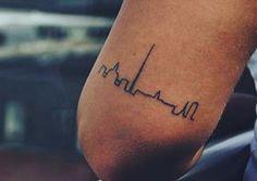 Another cute dublin skyline tattoo idea.