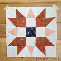 Gen X Quilters - Quilt Inspiration | Quilting Tutorials & Patterns | Connect: Sweet as Pumpkin Pie...