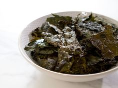 Kale Chips recipe from Trisha Yearwood via Food Network