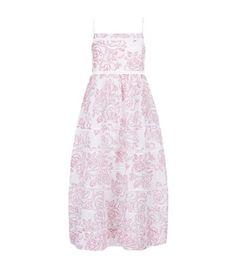 ZIMMERMANN Laddered Midi Floral Dress. #zimmermann #cloth #