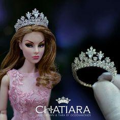 Lindos diseños de tiaras para reinas de belleza doll...