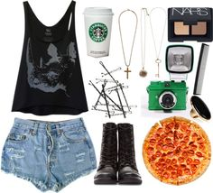 """""""im tired"""" by panicdisorder ❤ liked on Polyvore"""