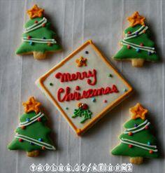 アイシングクッキー クリスマス