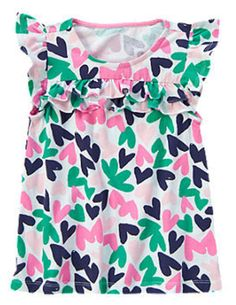 Heart Top by Gymboree by starbabydesigns  Available at http://stores.ebay.com/Star-Baby-Designs-Home-Store
