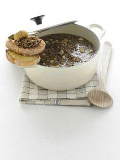 Zuppa di lenticchie e castagne (Abruzzo) #TuscanyAgriturismoGiratola