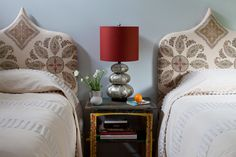 Inside a Guest Bedroom Makeover That Transports Its Visitors to Spain Home, Bedroom Interior, Bedroom Makeover, Bedroom Design, Los Angeles Interior Design, Beautiful Bedrooms, Interior Design, Interior Spaces, House Interior