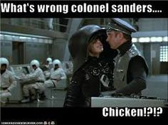 What's the matter, Colonel Sanders? Name That Movie, Movie Tv, Moving Pictures, Funny Pictures, Funny Pics, Mel Brooks Movies, Colonel Sanders, Young Frankenstein, Punch And Judy