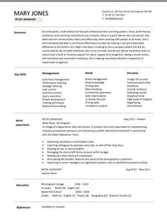Shop Assistant Resume Sample Nice Starting Your Career Now With A Relevant Athletic Director .