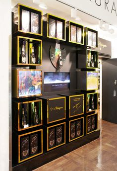 Retail Displays for Premium Champagne Brands - b.log - Berry Place