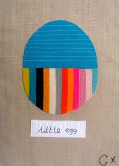 Little Egg by Castle Gorgeous stripe palette Editorial Design Magazine, Magazine Design, Art Projects, Sewing Projects, Tree Quilt, Colorful Artwork, Kids Patterns, Happy Art, Imagines