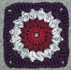 Ravelry: Sunburst Granny Squares pattern by Priscilla Hewitt