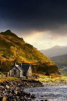 Ardnamurchan Peninsula, Scotland. I could live there!