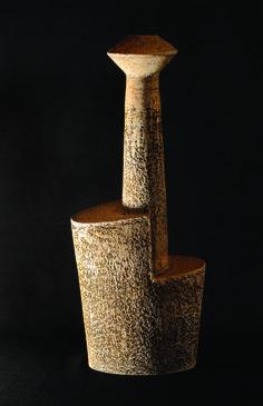 Stepped Chimney Vessel Artist Gallery, Stoneware, Vase, Sculpture, Ceramics, Crafts, Ceramica, Pottery, Manualidades