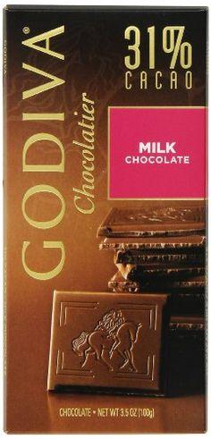 Godiva Milk Chocolate Bar, (Pack of Chocolate Shop, Chocolate Hazelnut, Best Chocolate, Chocolate Lovers, Chocolate Bars, Godiva Chocolatier, Best Amazon Products, Gourmet Recipes, Milk