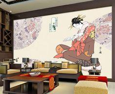 Vintage Photo Wallpaper Custom 3D wallpaper Japanese Painting Wall Murals Kids Bedroom Art Room Decor Restaurant Home Decoration
