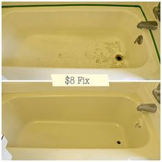 How to fix a chipped bathtub for super cheap!