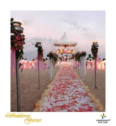 Road to happiness😍Photo by Crosscraft, Goa Flower Decorations, Wedding Decorations, Table Decorations, Indian Wedding Outfits, Goa, More Pictures, Real Weddings, Wedding Planner, Backdrops