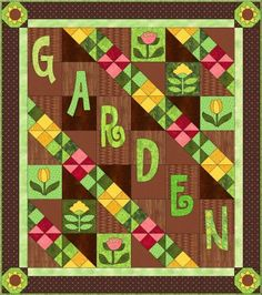 Scrappy Garden Quilt