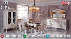 Marvellous Meja Makan Mewah Ukiran Klasik Luxury New Furniture Jepara BT-0819